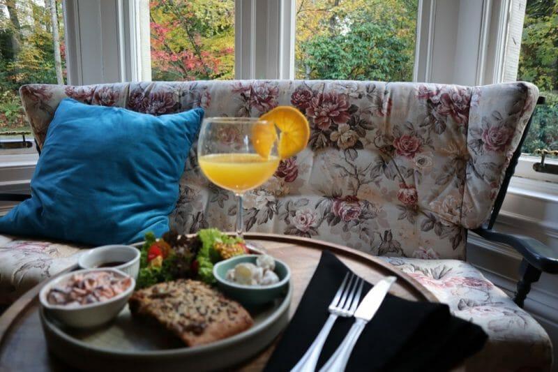 Saorsa 1875 hotel lunch