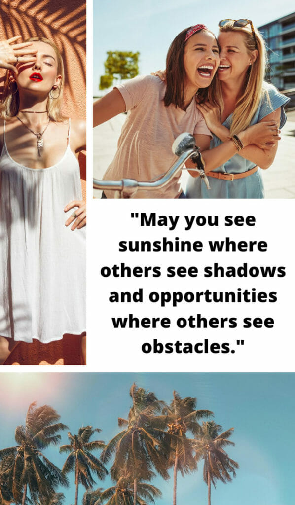 May the light of the morning sun shine upon you. May the deepest and sweetest love always find you. Sunshine quotes, quotes about sunshine, positive quotes, inspirational quotes, motivational quotes, sunny, beach, wellness, self help, calm, happy, smile, Instagram captions.