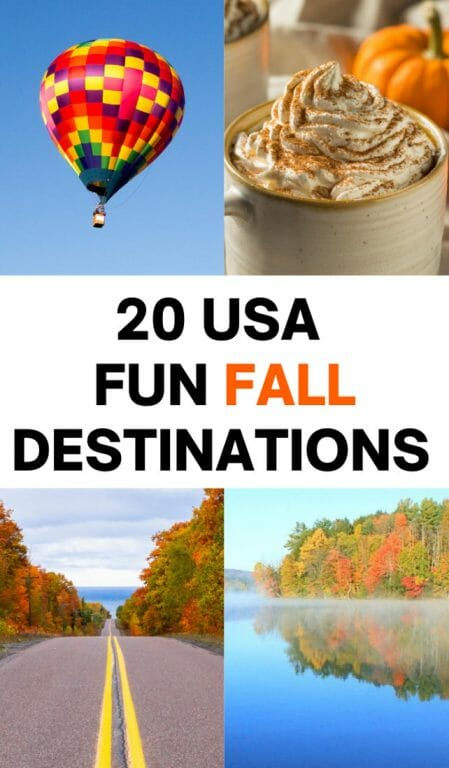 Best places to visit in October in USA, USA October travel, best places to travel, October vacation ideas USA, October, travel destinations USA, Fall in USA, Fall colors, New England, Halloween USA, Halloween festivals USA, Halloween in USA