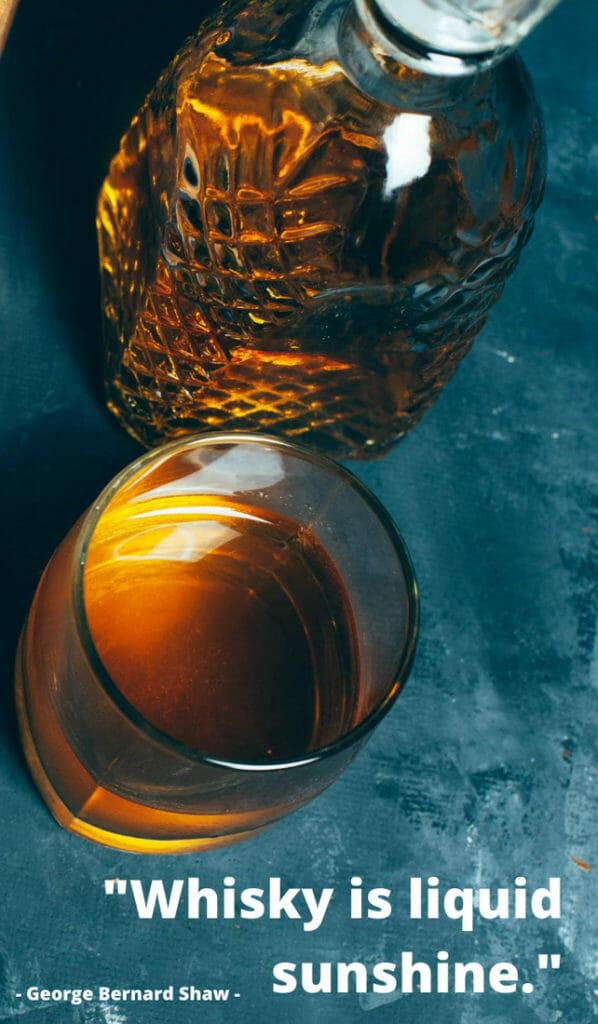 Whisky liquid sunshine