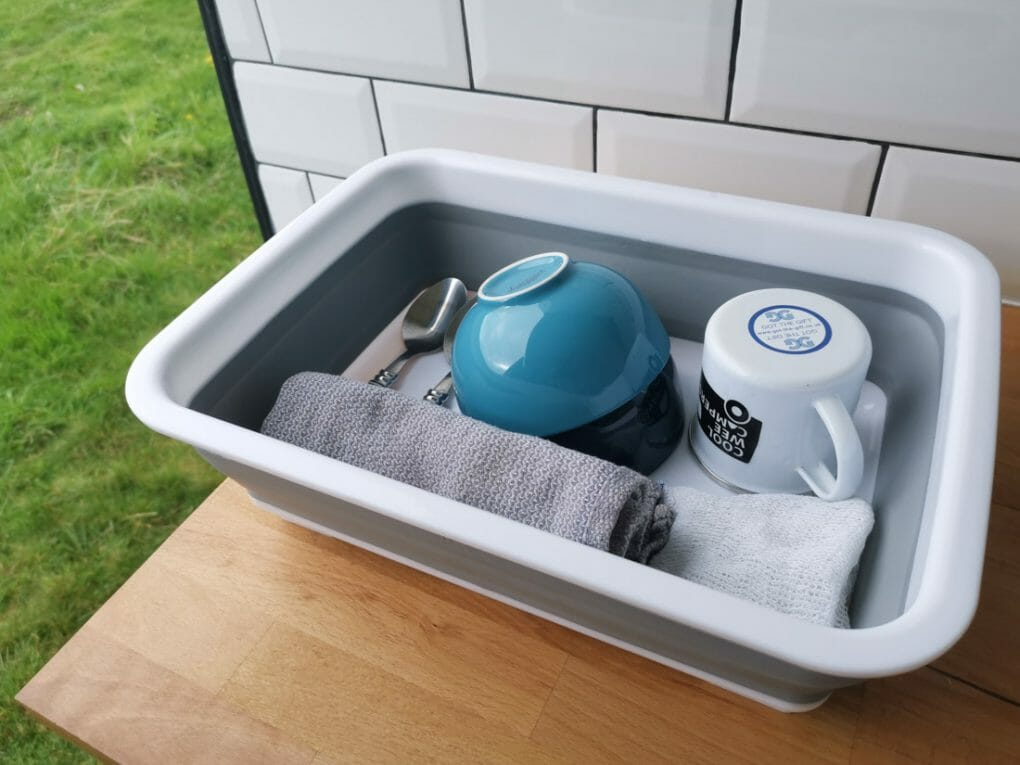 Collapsible Box Dishes Campervan Road Trip