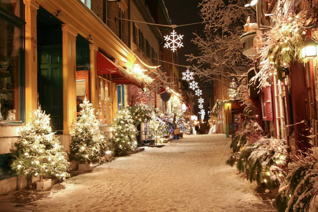 Quebec at Christmas