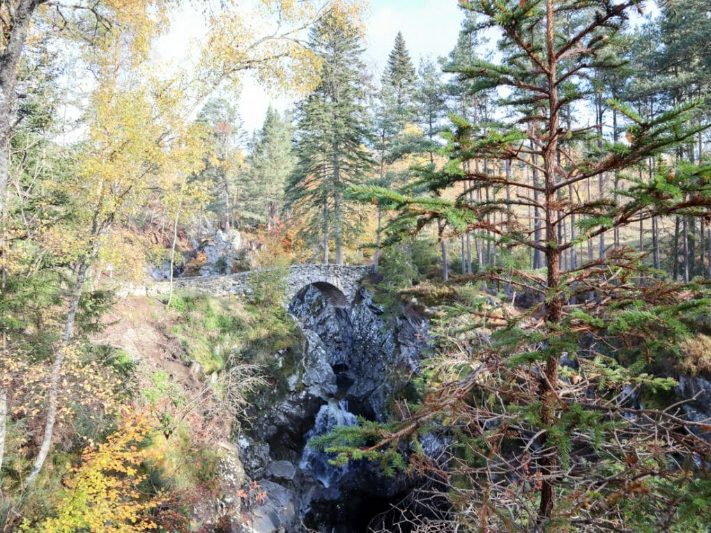 Falls of Bruar Perthshire