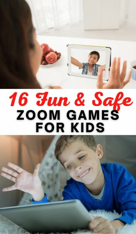Looking for the best Zoom games for kids? This guides details 16 games to play online alone or with other players so your child can stay connected while having fun! These Zoom activities will keep your family busy and entertained.