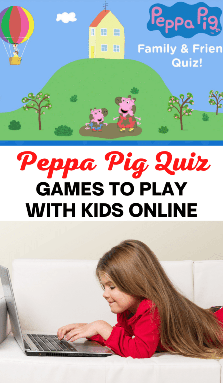Peppa Pig games to play online