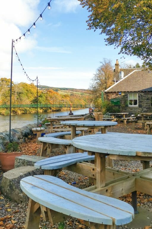 Pitlochry Outside Seating