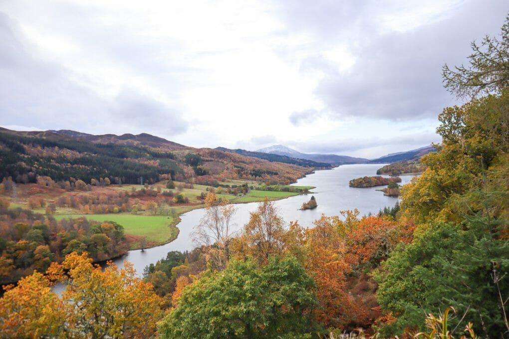 Queens View in Scotland
