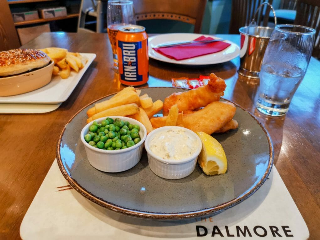 The Dalmore In fish Blairgowrie