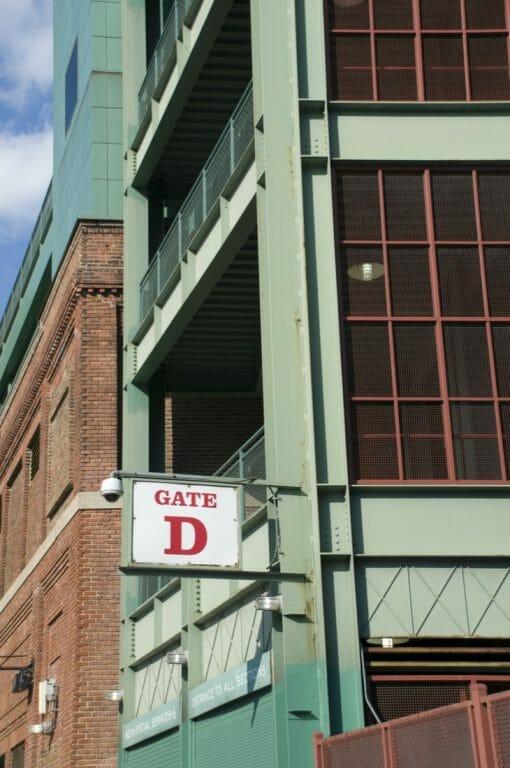Fenway Park Boston Ticket Stand