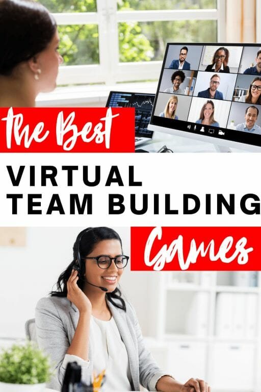 The best virtual team building activities to keep remote team members connected, motivate new on-boarding employees and promote community!