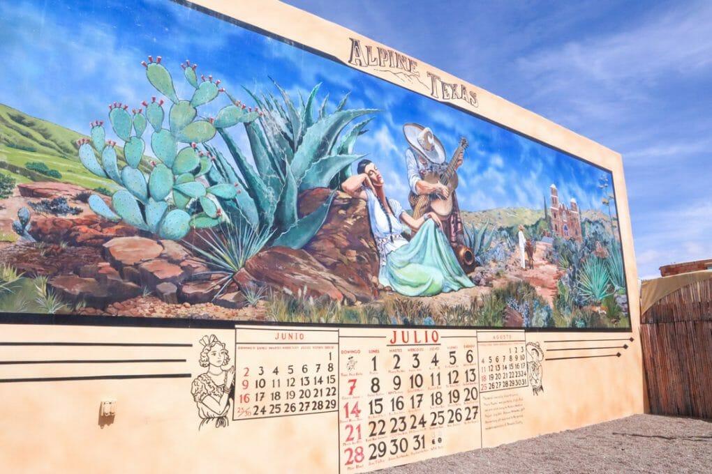 Alpine Mural Texas
