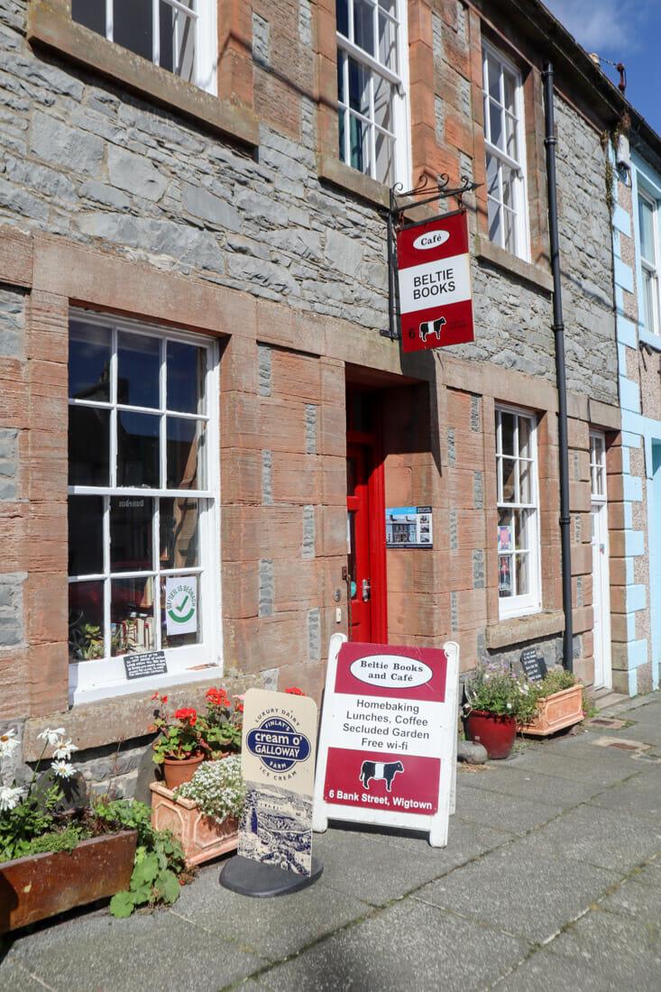 Beltie Books Shop Wigtown Scotland