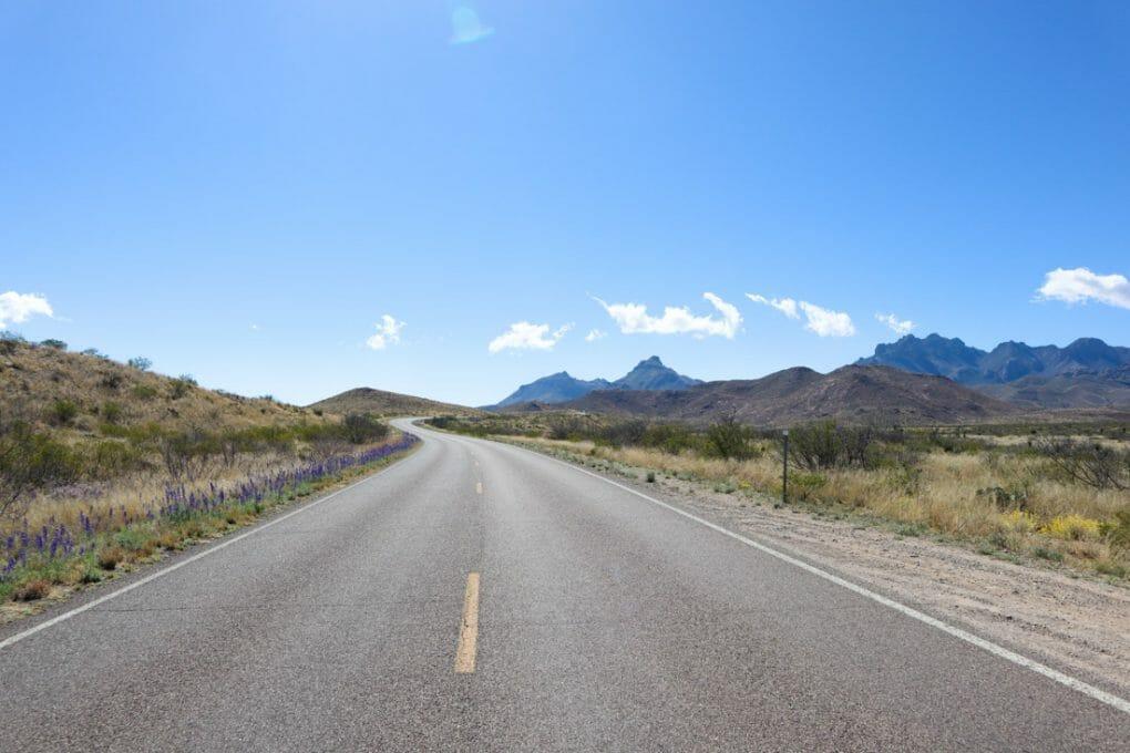 Big Bend National Park Road