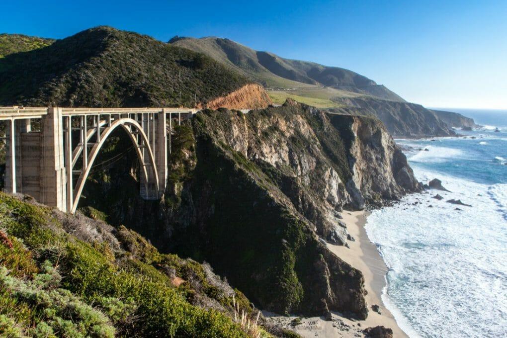 Bixby Bridge Big Sur. California