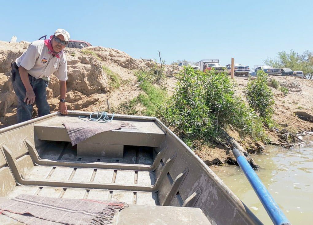 Boat Boquillas Big Bend Texas_