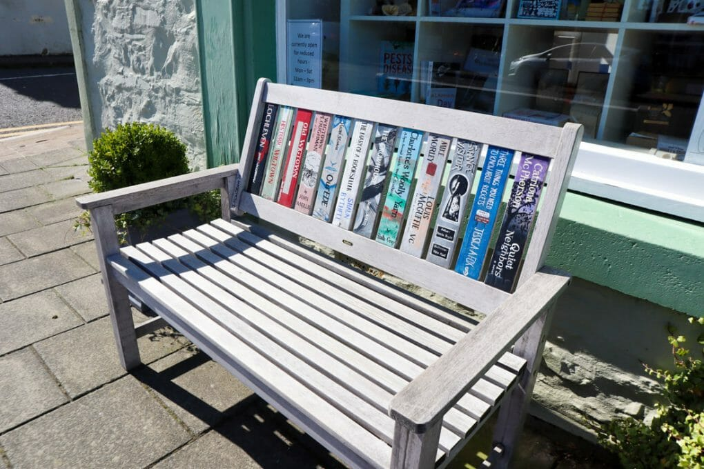 Book Bench Wigtown, Scotland