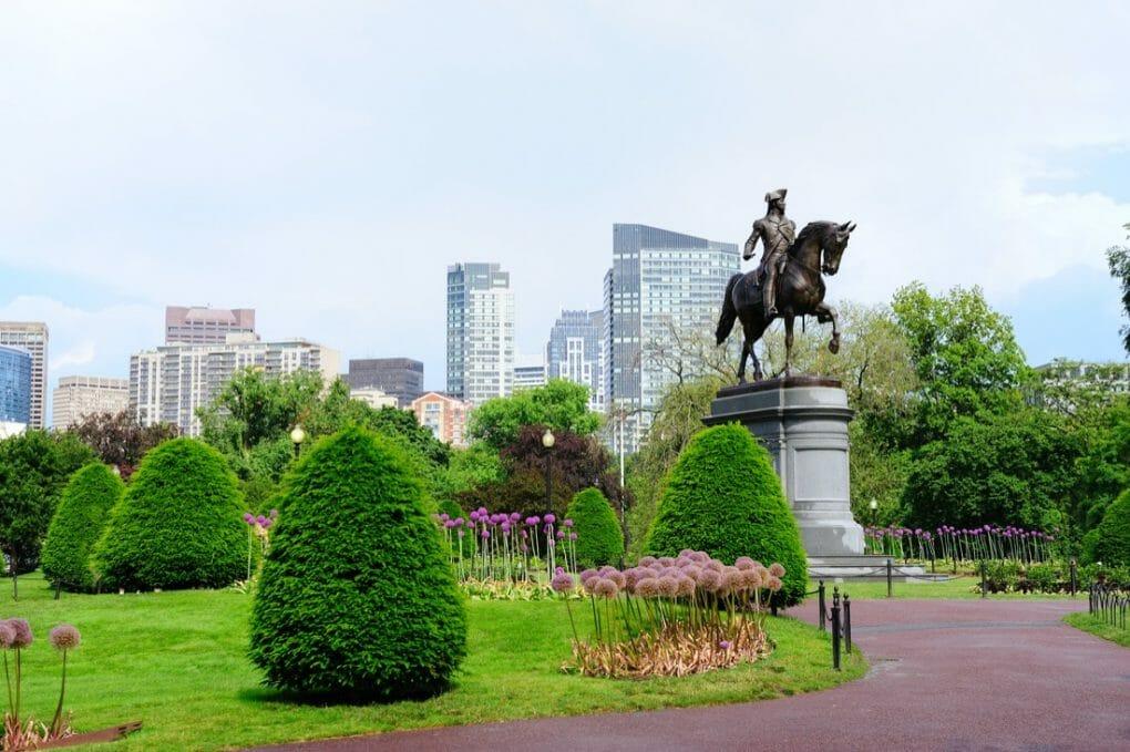 Boston Common park garden