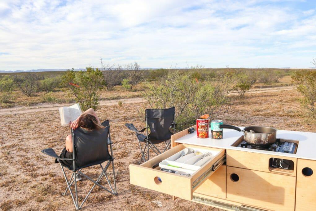 Campervan Spot Big Bend National Park Texas