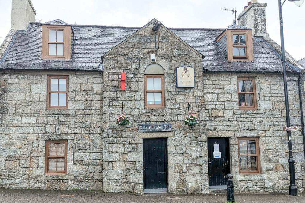 Dalmellington Inn Scotland pub building