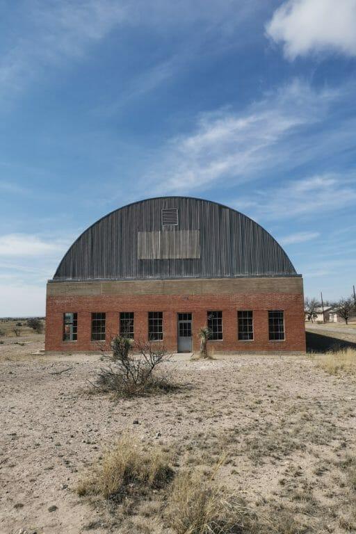 Donald Judd Chinati Foundation Hanger Marfa Texas
