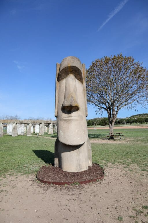 Easter Island Statue Ingram Texas