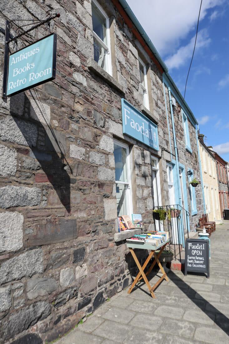 Faodail Book Shop Wigtown Scotland