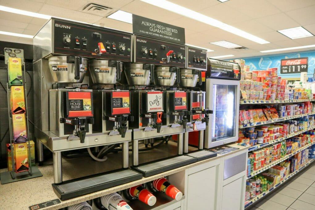 Gas Station Coffee Machines