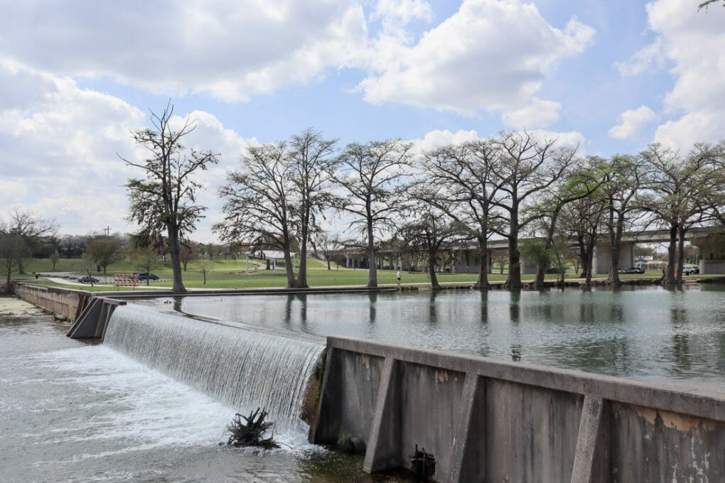 Guadalupe River Flows Kerrville Texas