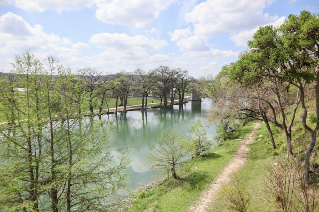 Guadalupe River in Kerrville Texas