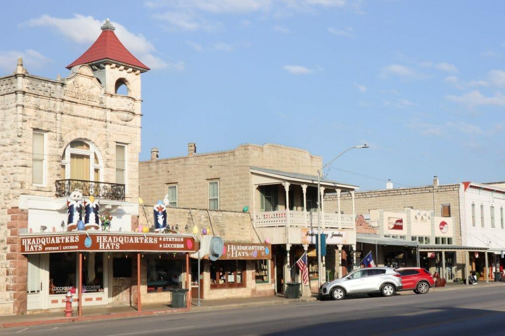 Hats Headquarters High Street Fredericksburg Texas