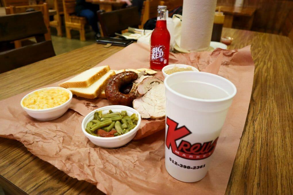 Kreuz Market BBQ on Paper Texas