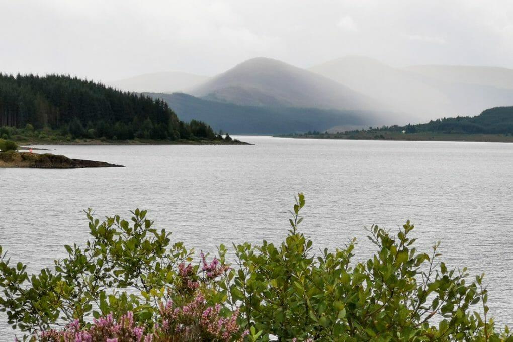 Loch Doon Galloway Forest Park South Scotland West_