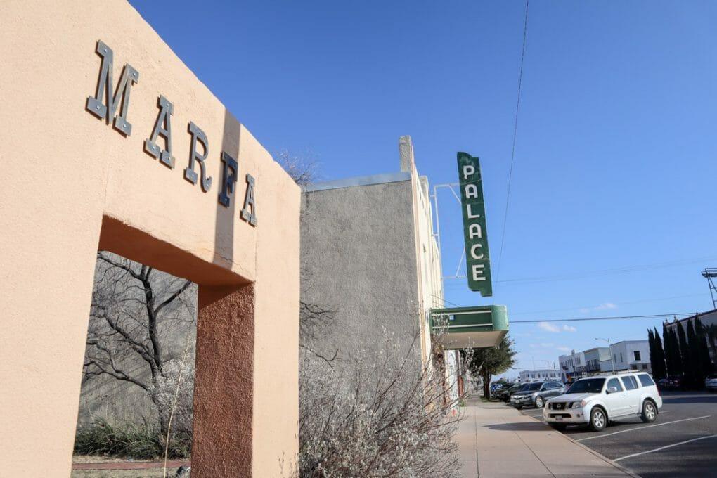 Marfa Arch Texas