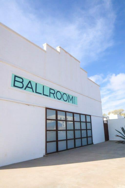 Marfa Ballroom Art Gallery Texas