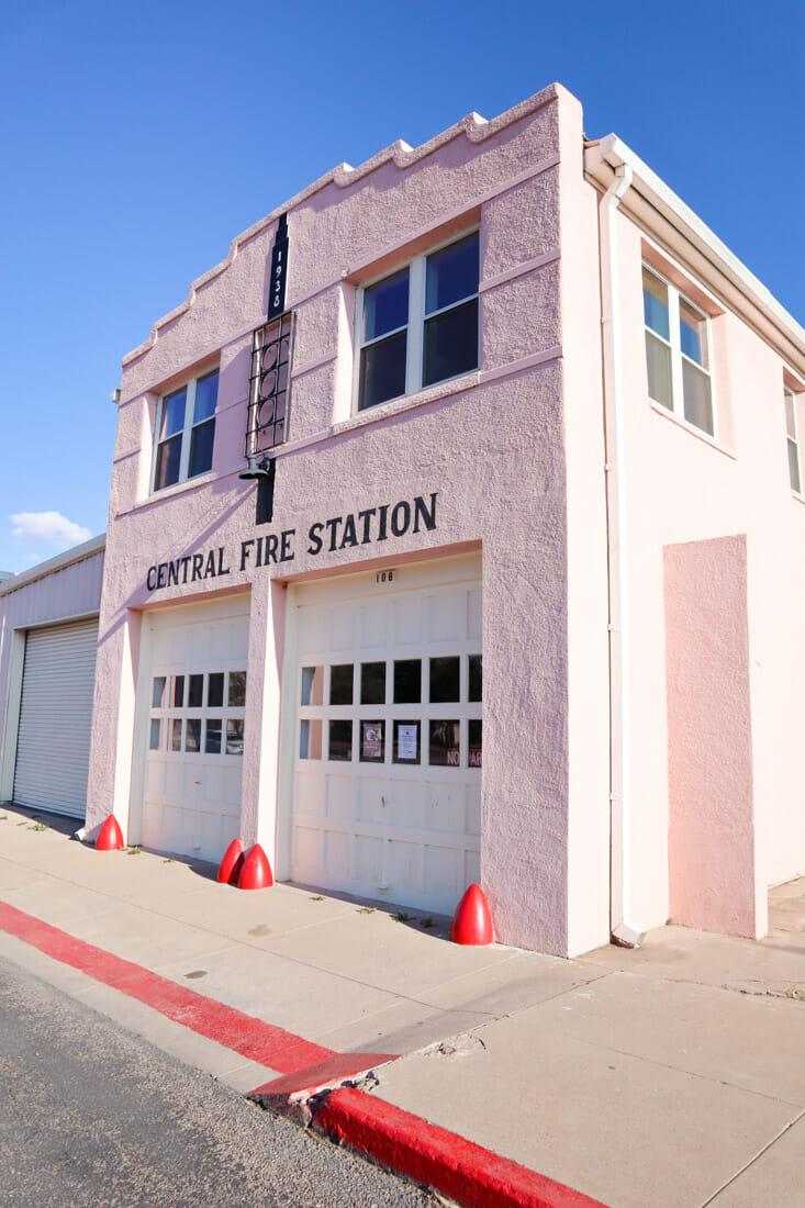Marfa Central Fire Station Texas