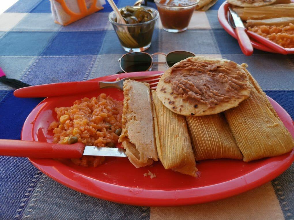 Mexican Food Boquillas Restaurant Big Bend Texas_