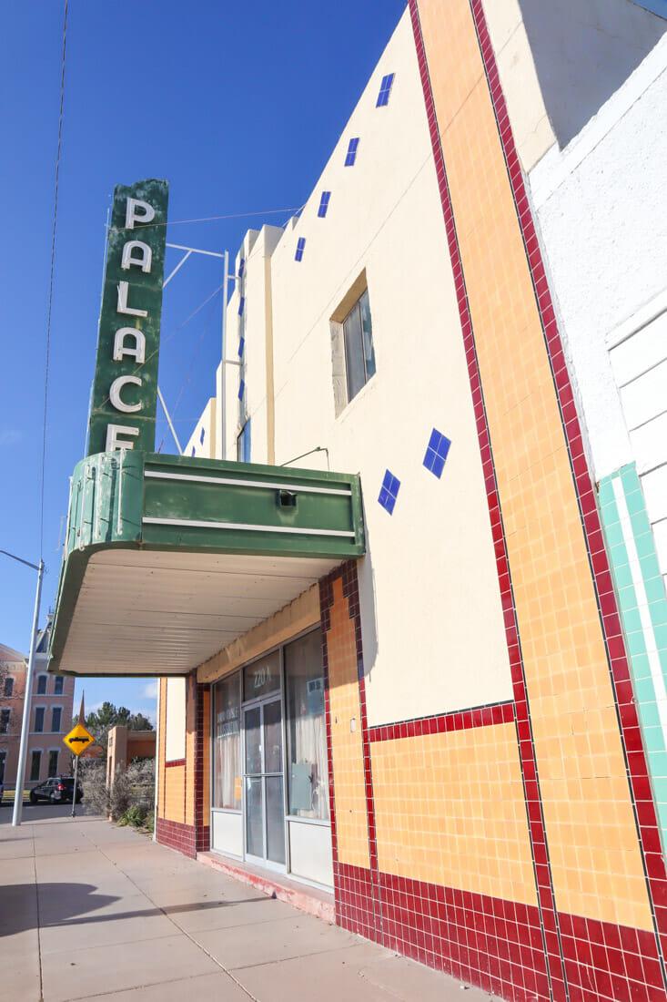 Palace Theatre Marfa Texas