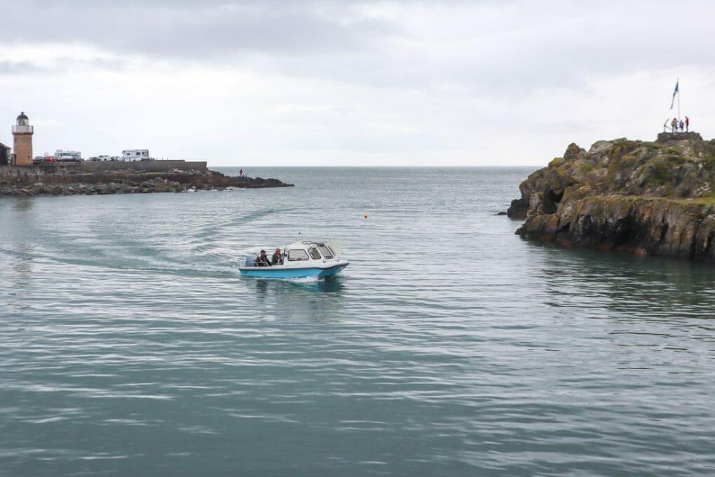 Portpatrick boat in water