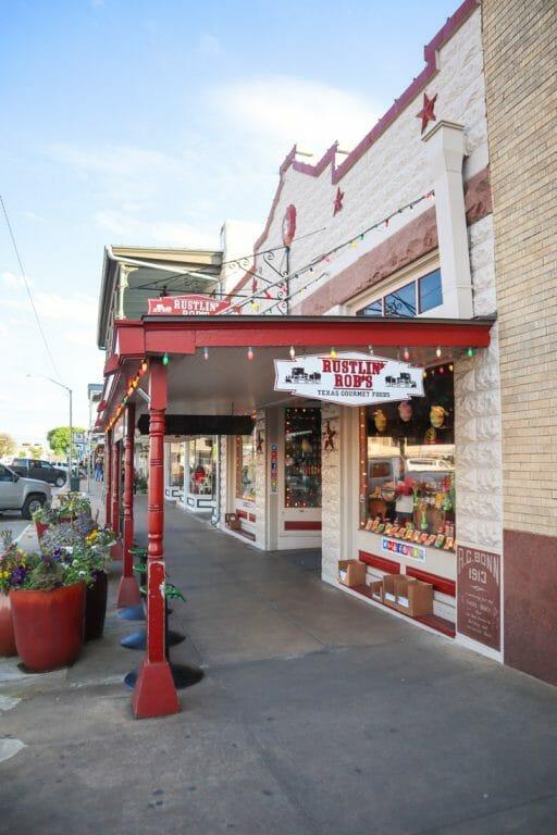 Rustlin Robs Main Street Fredericksburg Texas