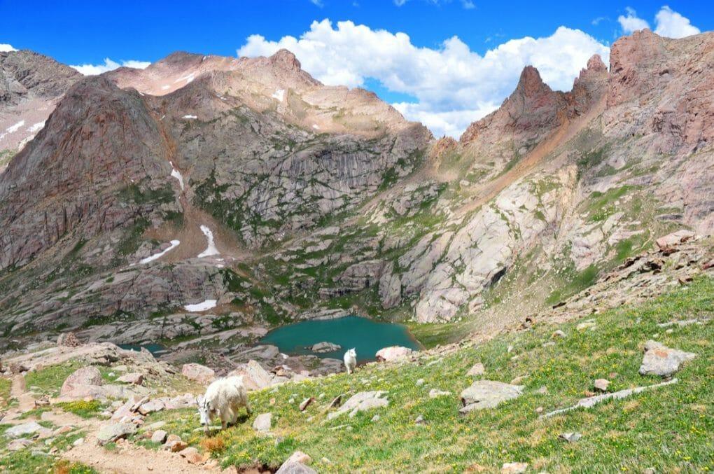 San Juan Mountains Colorado, Rocky Mountains, USA.copy