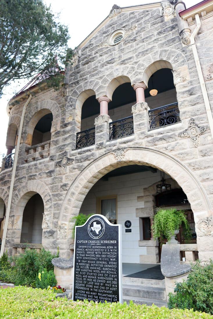Schreiner Mansion Kerrville Texas