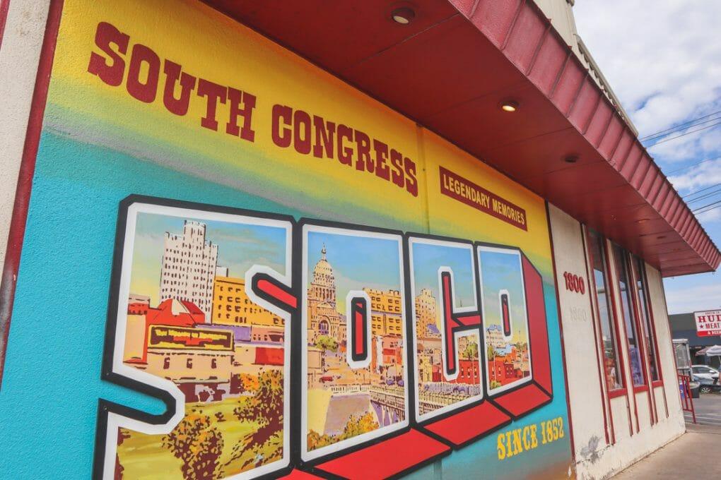 South Congress Street Art Austin