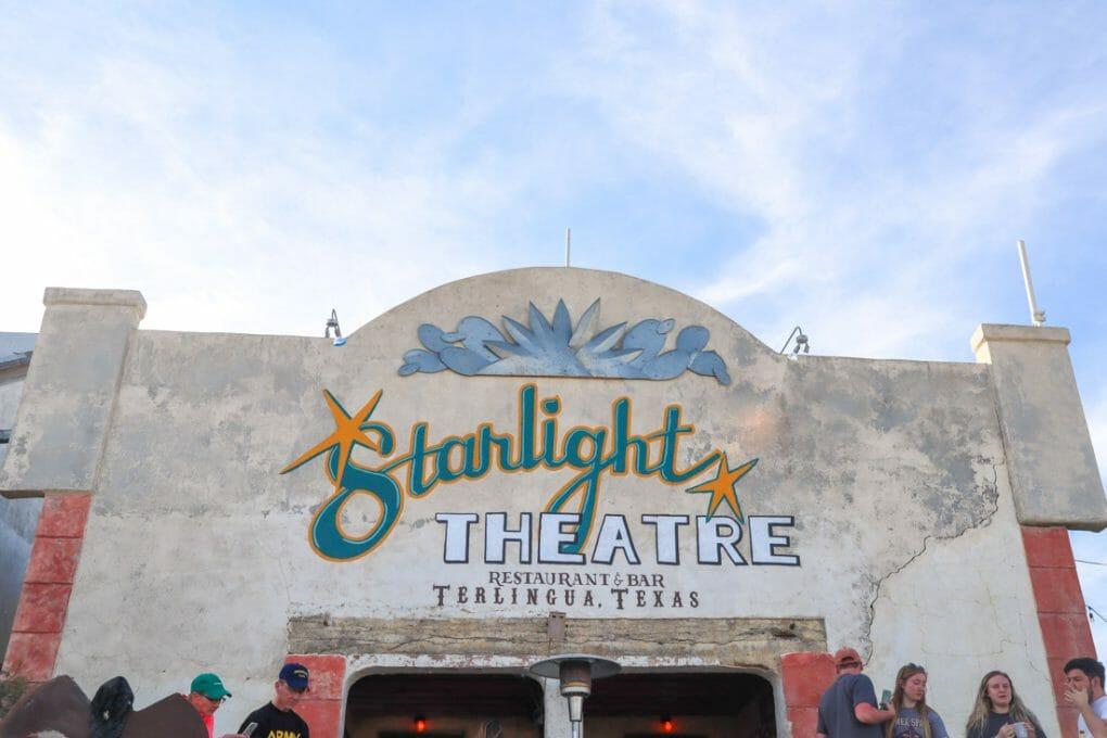 Starlight Theatre Terlingua Texas_