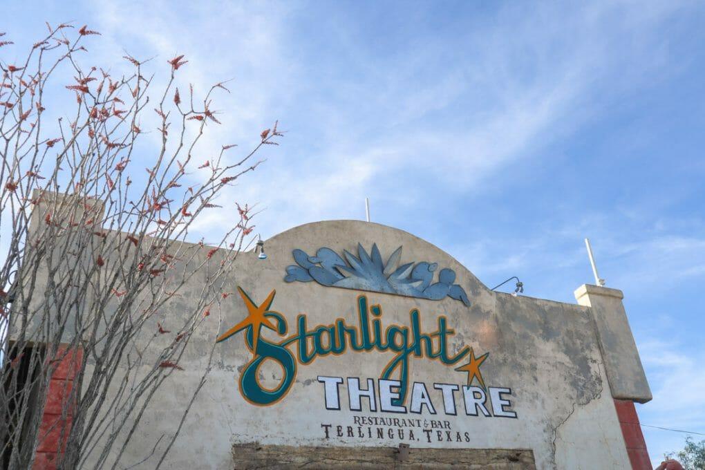 Starlight Theatre in Terlingua Texas