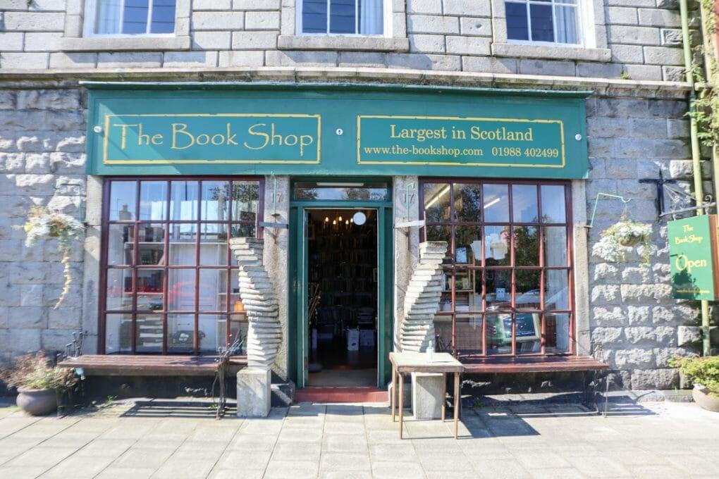 The Bookshop in Wigtown, Scotland