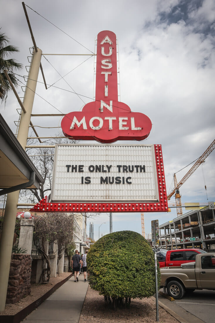 The Only Truth Is Music Motel Austin