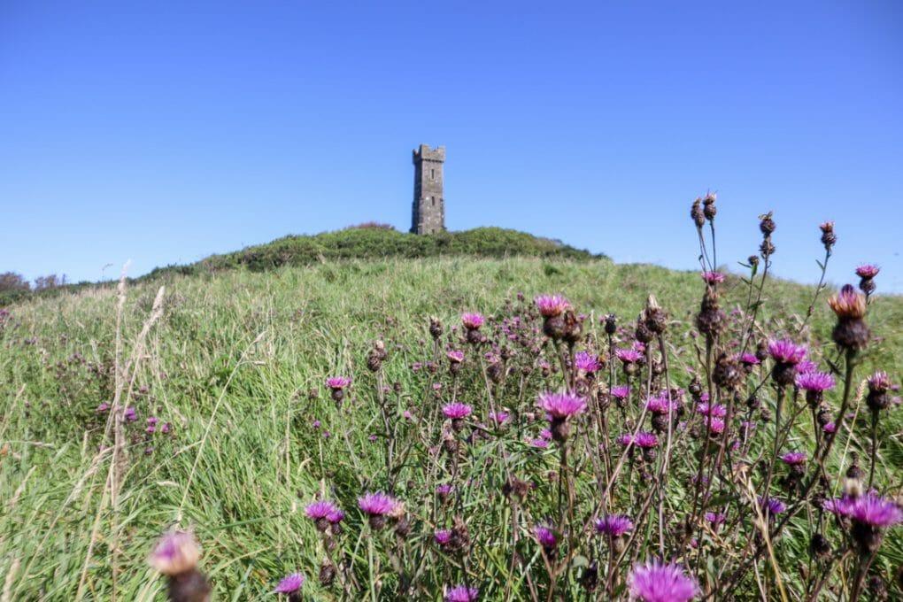 Tor of Craigoch Agnew Monument South West Scotland