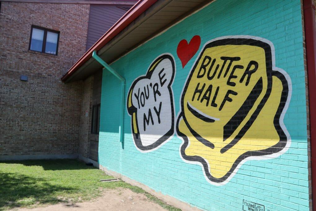 You're My Butter Half Austin Art Texas