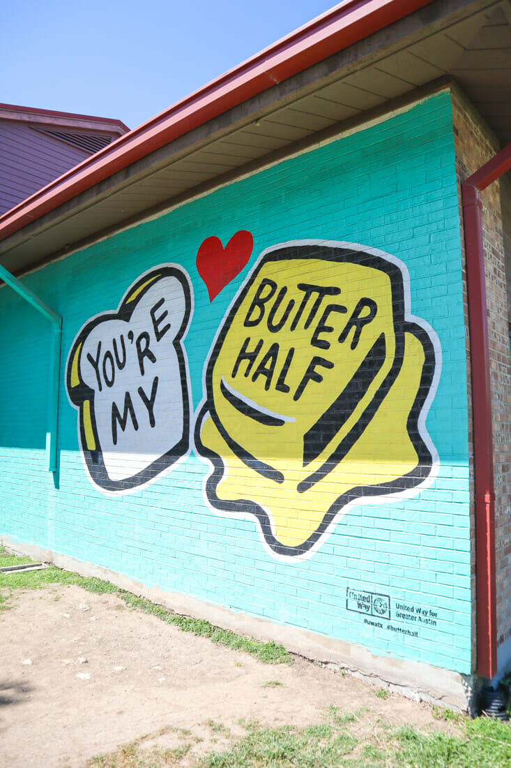 You're My Butter Half Austin Art inTexas