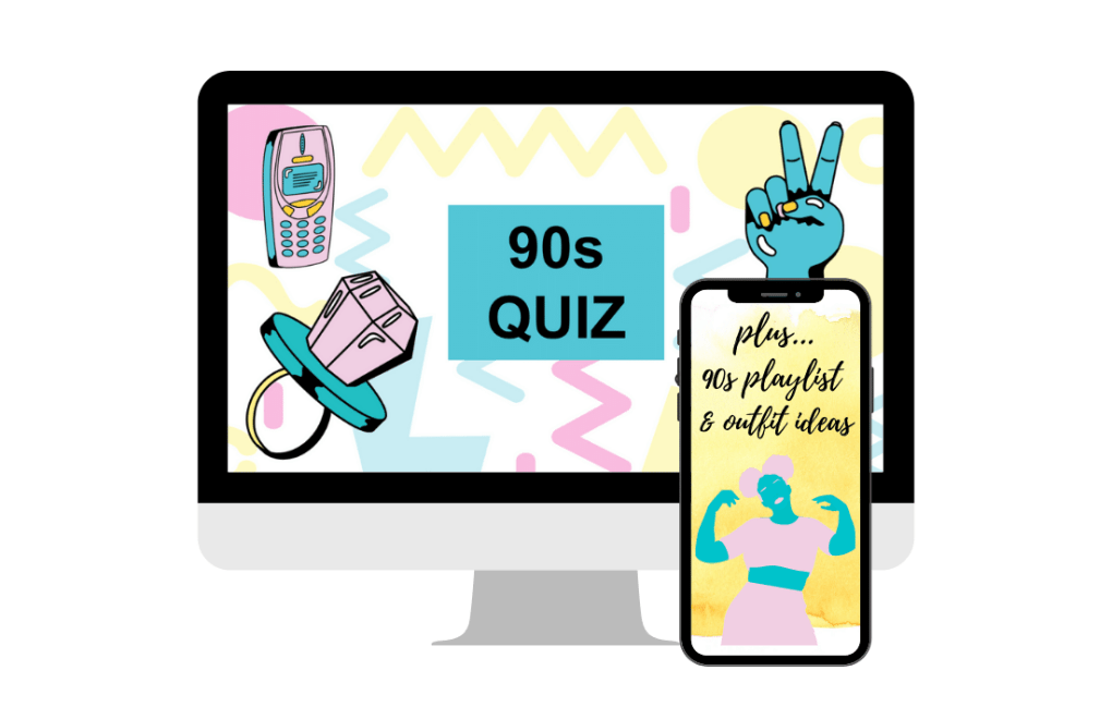 90s Trivia Quiz Feature
